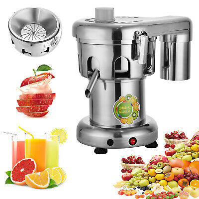 Commercial Juice Extractor Stainless Steel Juicer Heavy Duty Vegetable  Fruit