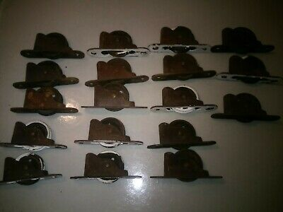 Lot Of 18 Vintage Coleman Window Weight Pulleys