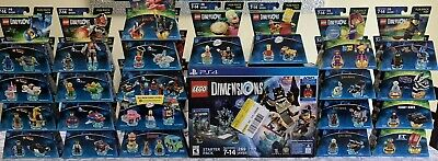 🔥HUGE NEW LEGO DIMENSIONS COLLECTION LOT, 23 Packs + STARTER KIT/w SUPERGIRL