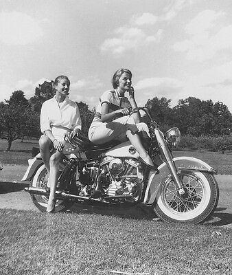 Harley-Davidson FL Duo Glide 1958 - FLH Duo Glide motorcycle photo photograph