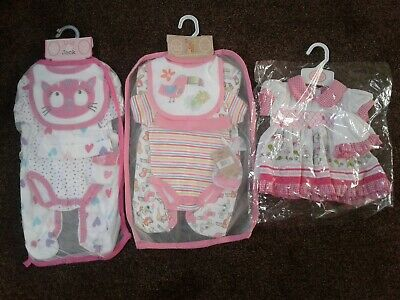Bundle of baby girls clothes size newborn BNWT