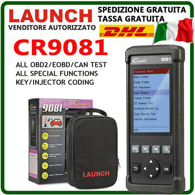 Launch X431 Diagnosi Autodiagnosi Multimarca Universale OBD Professionale Auto