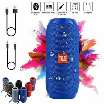 NEW Portable Speaker with Microphone and Bluetooth Super Bass Waterproof BeatBox