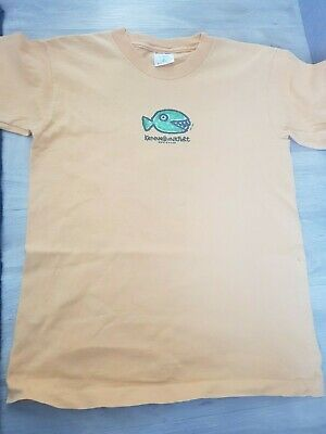 Boys Ameritrees Orange 1012 Years Short Sleeved With Sharkfish On Front And...