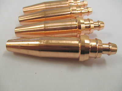 4 x SWP 1/32 Acetylene Cutting Nozzle - 3 - 6 mm Plate
