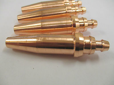 4 x 3/64 Acetylene Cutting Nozzle - 5 - 12 mm Plate