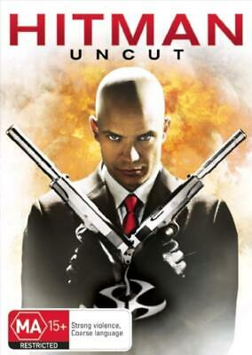 Hitman - Uncut (DVD, 2008), NEW SEALED AUSTRALIAN RELEASE REGION 4