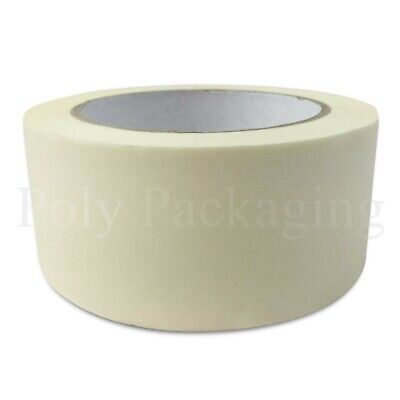 """2 x MASKING TAPE(50mmx50m)(2"""" Wide)Painting Decorating/DIY/Indoor/Outdoor"""