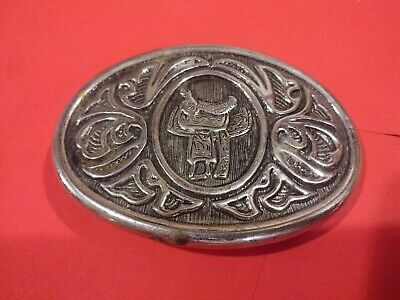 Vintage Avon Western Theme Belt Buckle 3.09 oz