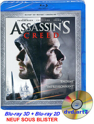 Blu-Ray 3D + Blu-Ray 2D : Assassin's Creed - Neuf Sous Blister