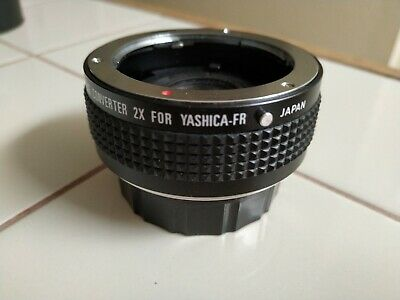 YASHICA Star-D Multi-Coated Auto tele converter 2X for Yashica-FR Japan