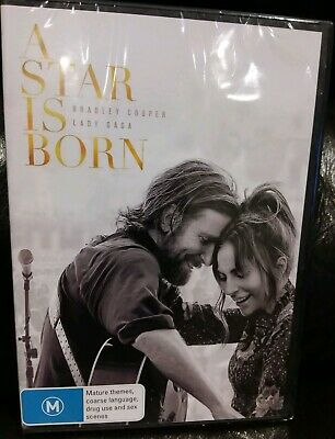 A Star Is Born 2019} Lady Gaga Genuine Release Region 4 Dvd New Sealed