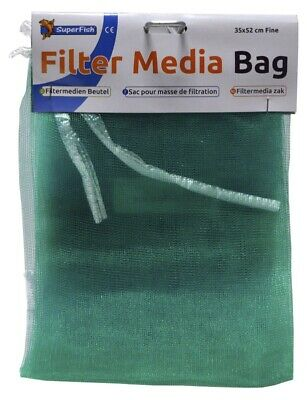 Superfish Aquarium or Pond Filter Media Bag - 35x52cm - Fine