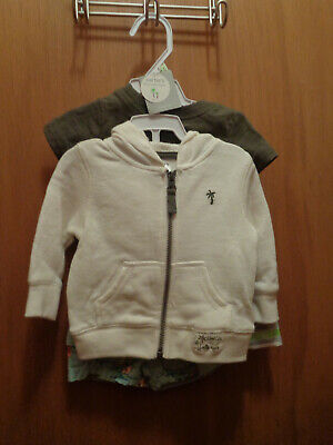 Carters Little Collections NWT Three-Piece Boys Short Set Size 3 months