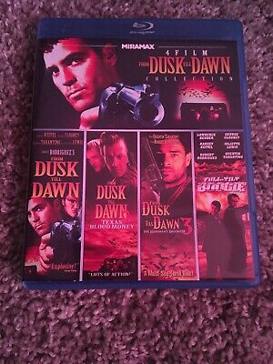 from dusk till dawn 4 Film Collection Blu Ray Rare Oop