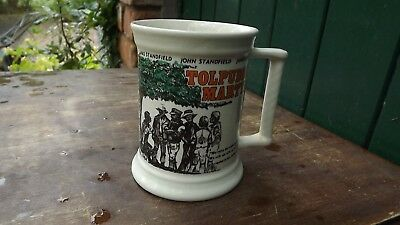 1984 150th Anniversary Tolpuddle Martyrs Pottery Tankard Issued by TUC
