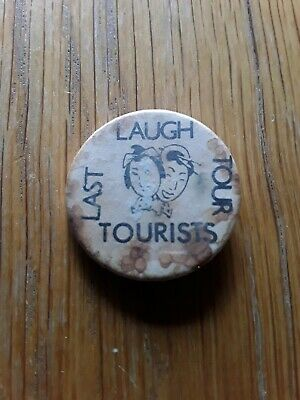 *REDUCED*   1980s THE TOURISTS ANNIE LENNOX NEW WAVE BAND POP MUSIC BADGE PIN