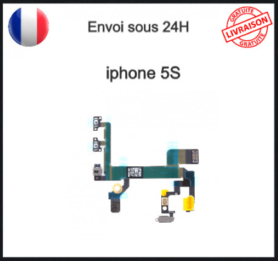 Nappe Bouton Power Volume Vibreur Iphone 5s Bouton On Off