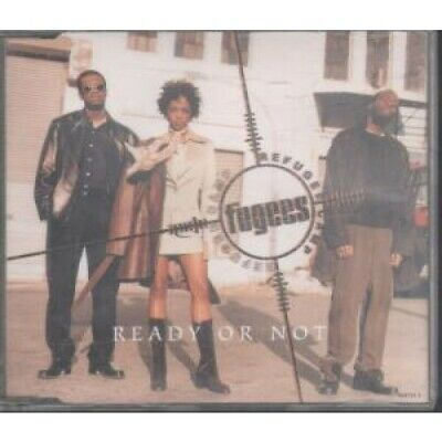 FUGEES Ready Or Not CD Austria Columbia 4 Track Radio Version B/w Salaam's