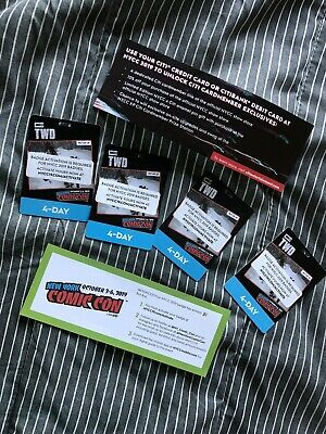 New York Comic Con 4 Day Pass NYCC 2019 - In hand And Activated.