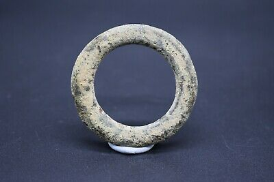 Ancient Celtic bronze proto ring money C. 200 BC