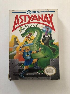 Astyanax (Nintendo Entertainment System, 1990) Cart And Box Only