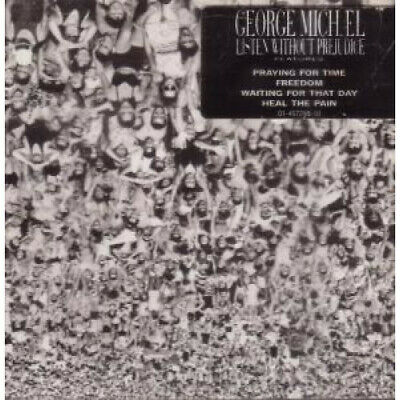 GEORGE MICHAEL Listen Without Prejudice CD Austria Epic 10 Track
