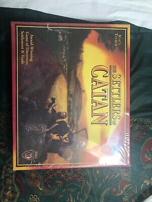New Sealed The Settlers of Catan Board Game #3061 Mayfair Games 2007