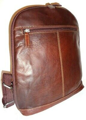 87fe0de78 Jack Georges Voyager Small Convertible Buffalo Backpack/Crossbody NWT # 7133
