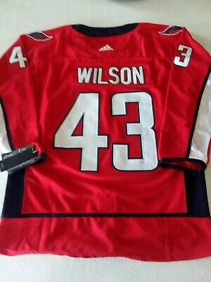 db2ba3f83ec Washington Capitals #43 Tom Wilson Home Red Small size 46 Jersey New With  Tags