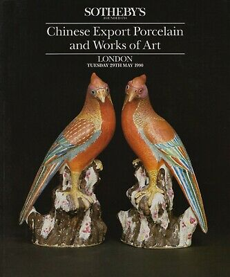 Chinese Export Porcelain  & Works Of Art  Auction Catalogue
