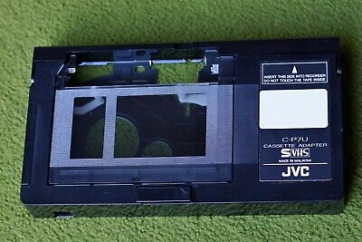 Vhs-C Cassette Adapter Play Vhsc Video Tapes On Vcr Jvc C-P7U