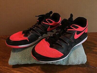 8c3de2806ef4 Nike NikeCourt Air Zoom Vapor X HC Tennis Shoe Solar Red Men size 11 AA8030-