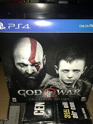 God of War: Collector's Edition (Sony PlayStation 4, 2018)