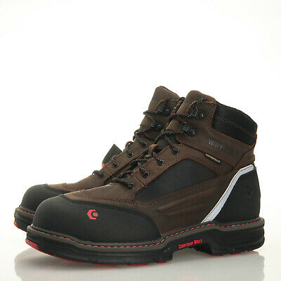 674f5a28f42 WOLVERINE BOOTS MENS Overman Waterproof Insulated CarbonMax 6