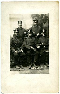 Military postcard, German mail in the front, First World War, WW1, 1914.