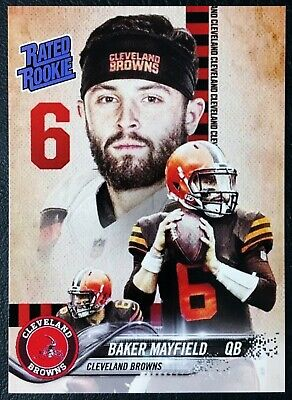 2018 Baker Mayfield Rated Rookie Custom Card - Mint - Cleveland Browns