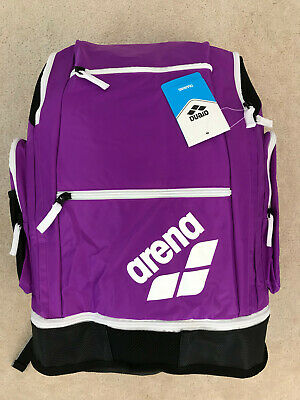 5addfac2efe ARENA SPIKY 2 Large Purple Swim Swimming Backpack Heavy Duty Unisex ...