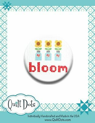 Lori Holt Bloom Needle Nanny from Quilt Dots - 1-inch - LH-BL-NN