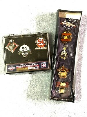 NIP Cooperstown LE 2008 GOOSE GOSSAGE Induction Pin Set + 1990 & 1998 RARE