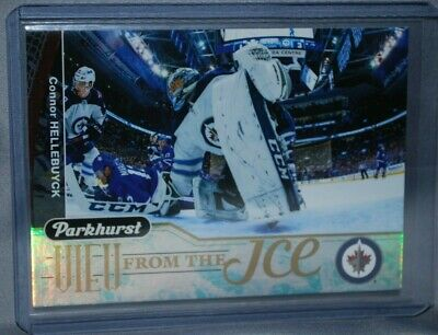 2018-19 Upper Deck Parkhurst View from the Ice #VI-11 Connor Hellebuyck Winnipeg