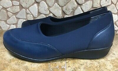 2c4e3e388a NEW Drew Shoes London II Women's Therapeutic Diabetic Extra Depth Shoe Navy  9WW