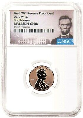 2019 W Reverse Proof Lincoln Penny Cent West Point NGC RD RV PF UC 69 FR Ptr LB