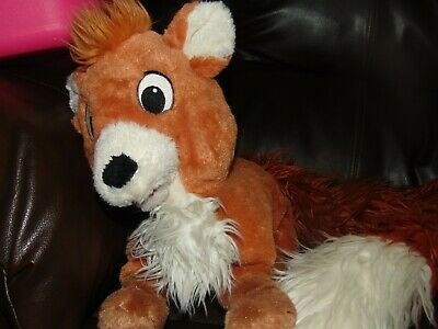 """Disney Parks The Fox and the Hound Approx 53"""" Tod Long Tail Boa Scarf Plush"""