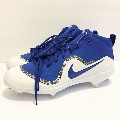 eed85115d75 Nike Force Air Trout 4 Pro Baseball Cleats Blue white Men s Size 12- 917920