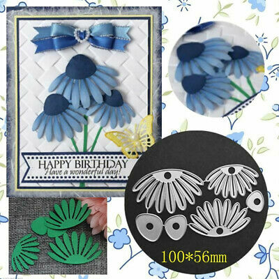 Flower Metal Cutting Dies Stencil DIY Scrapbooking Album Paper Card Embossing