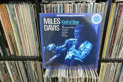 Miles Davis Kind Of Blue Reissue Year? Factory Sealed No Saw Mark Columbia M-