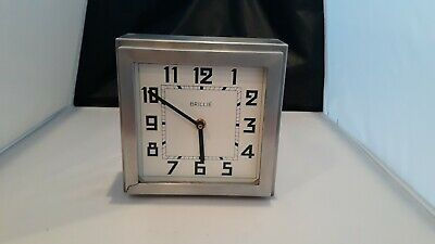 Brillie Wall Clock, Art Deco Antique French Clock