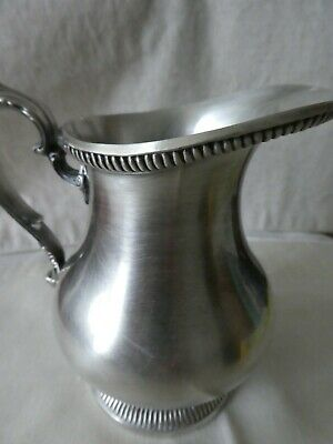 Vintage Gorham Newport Silverplate 797 Ribbed Creamer Stunning Condition