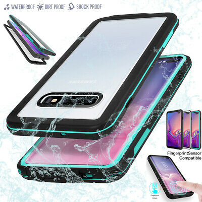 Samsung Galaxy S10+ Plus Waterproof Heavy Duty Dirt Shockproof Diving Case Cover